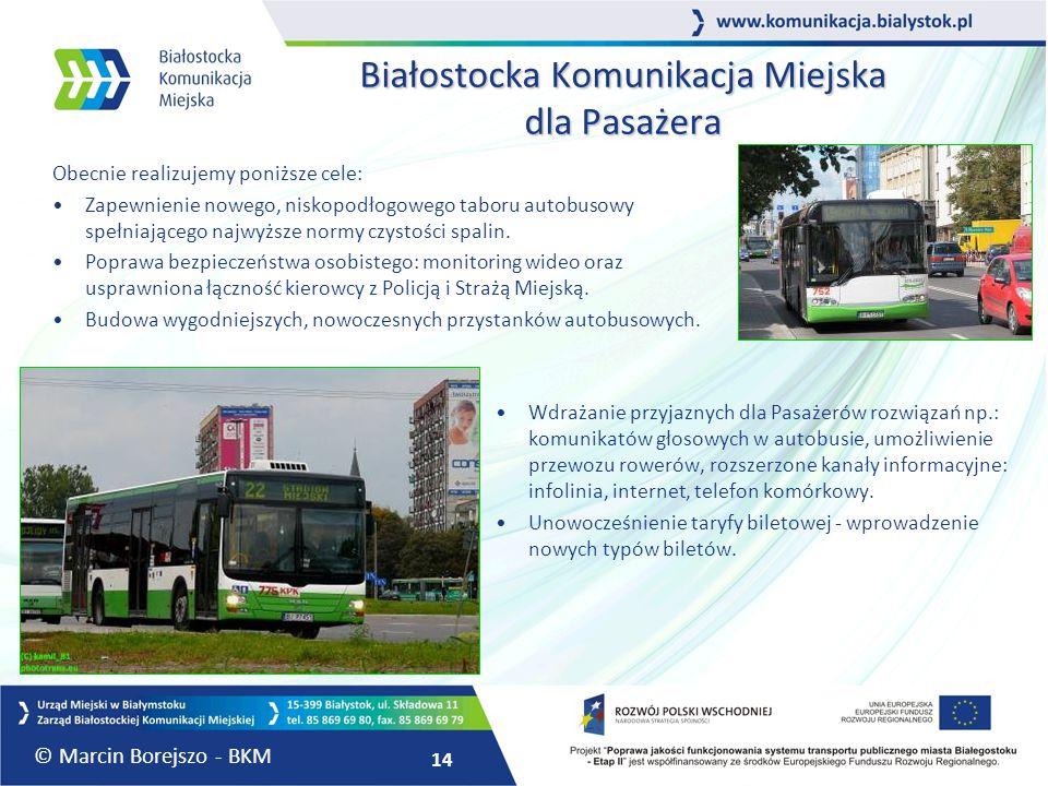 Białostocka Komunikacja Miejska dla Pasażera