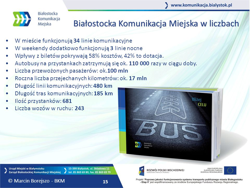 Białostocka Komunikacja Miejska w liczbach