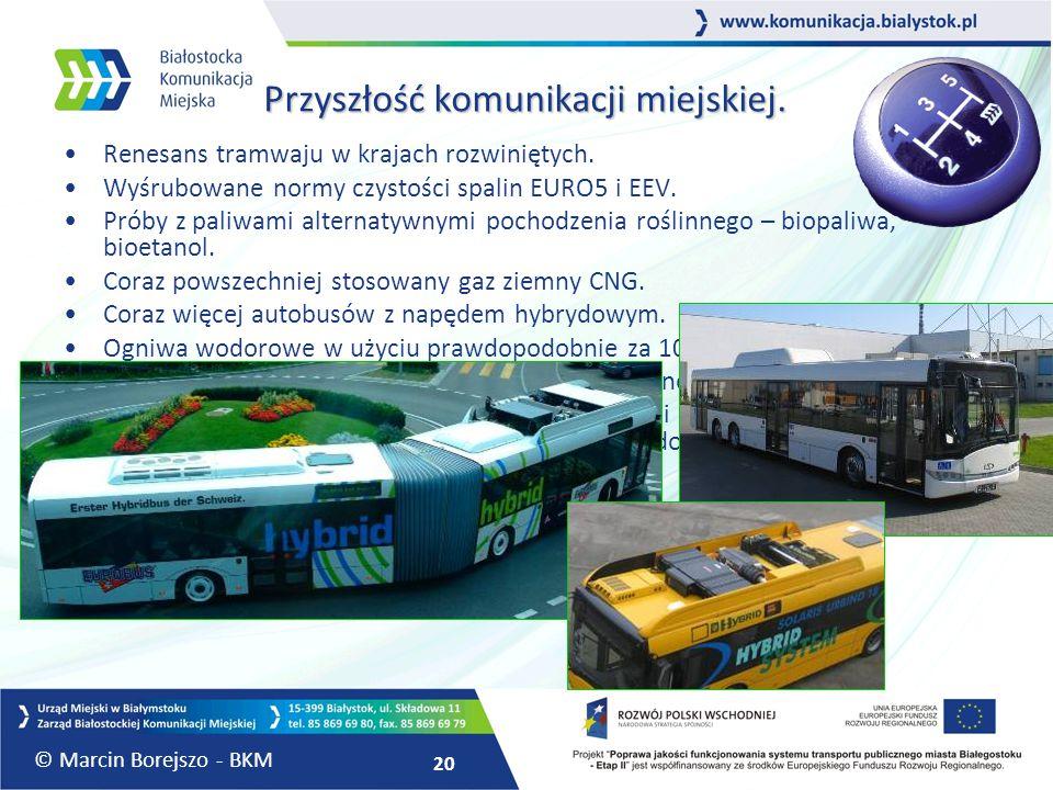 Przyszłość komunikacji miejskiej.