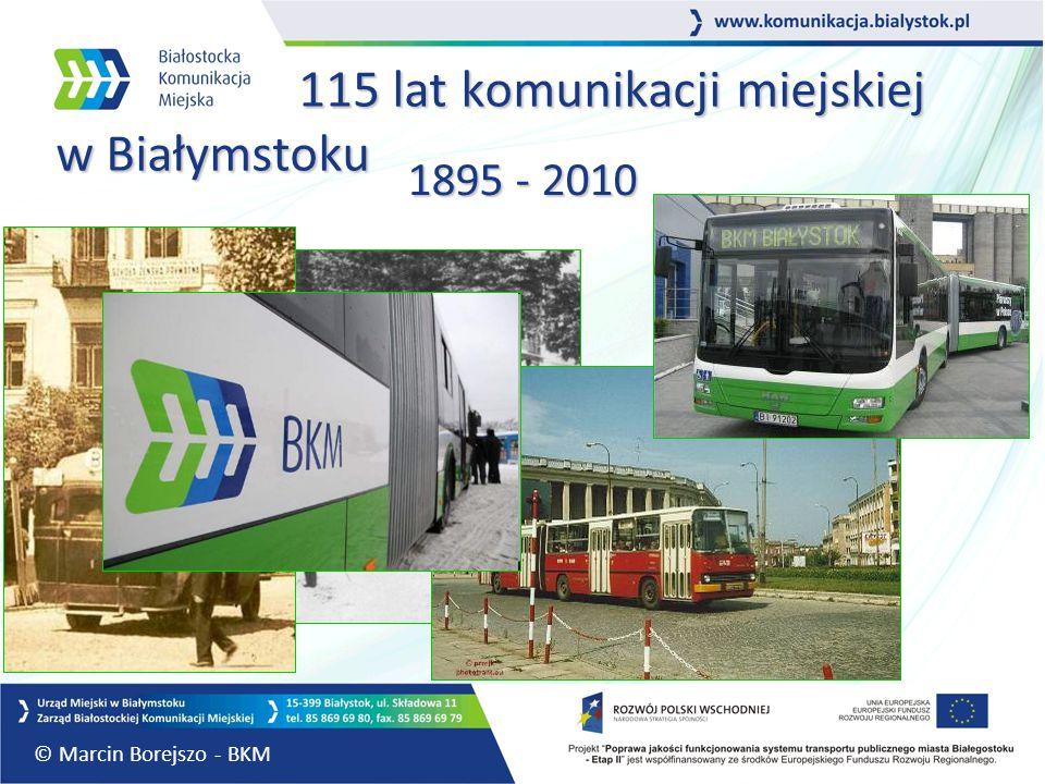 115 lat komunikacji miejskiej w Białymstoku