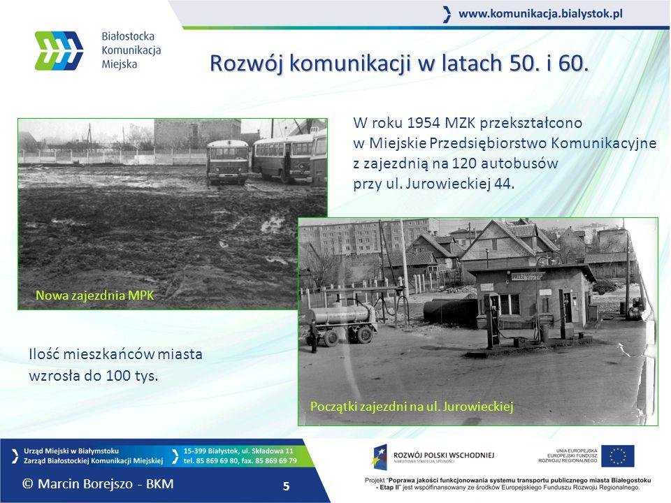 Rozwój komunikacji w latach 50. i 60.