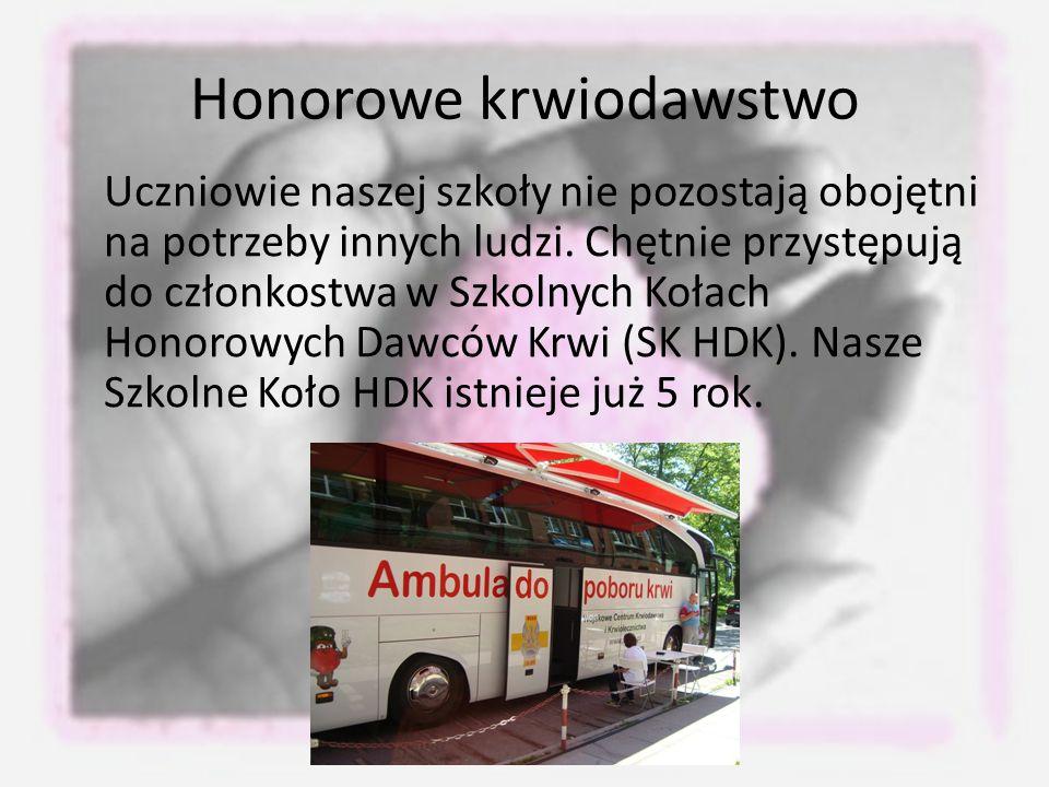 Honorowe krwiodawstwo
