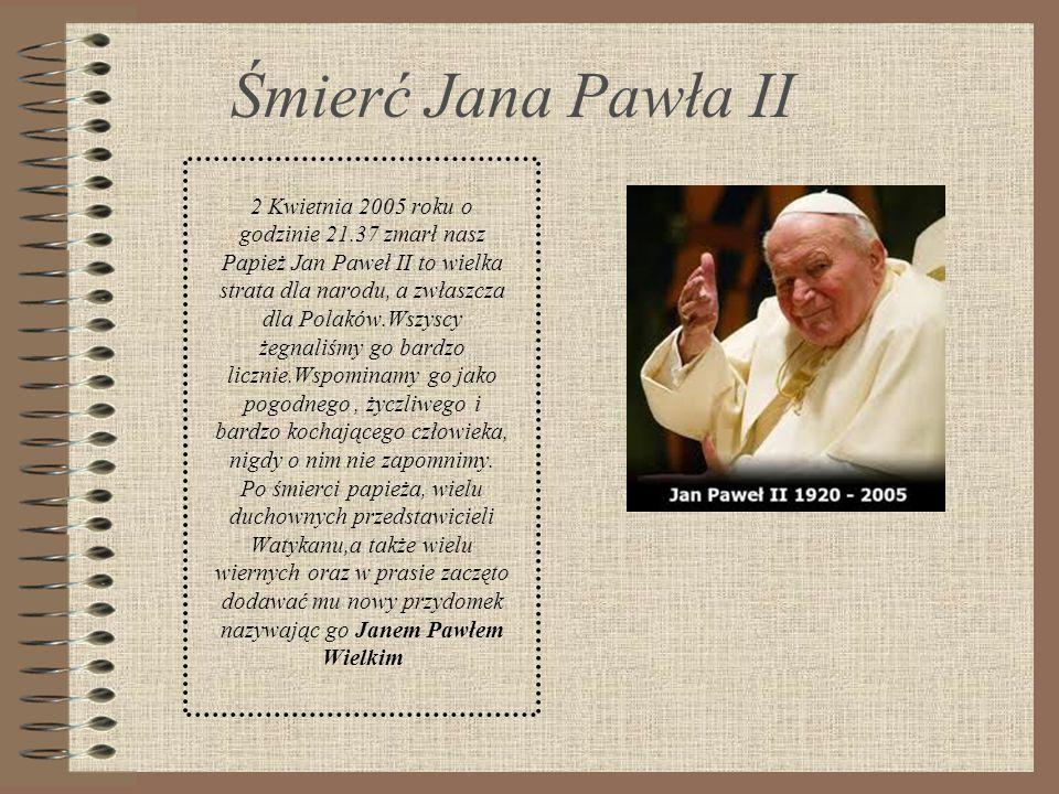 Śmierć Jana Pawła II