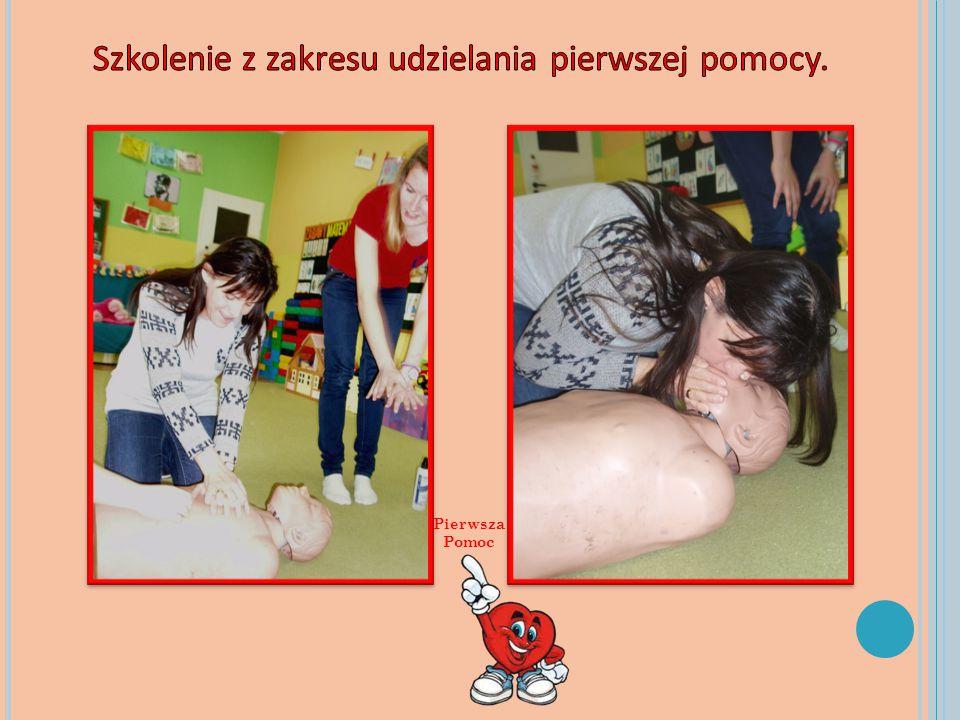 Szkolenie z zakresu udzielania pierwszej pomocy.