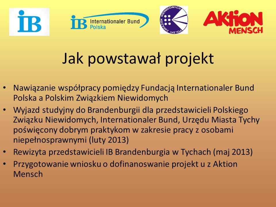 Jak powstawał projekt Nawiązanie współpracy pomiędzy Fundacją Internationaler Bund Polska a Polskim Związkiem Niewidomych.