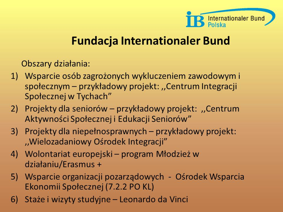 Fundacja Internationaler Bund