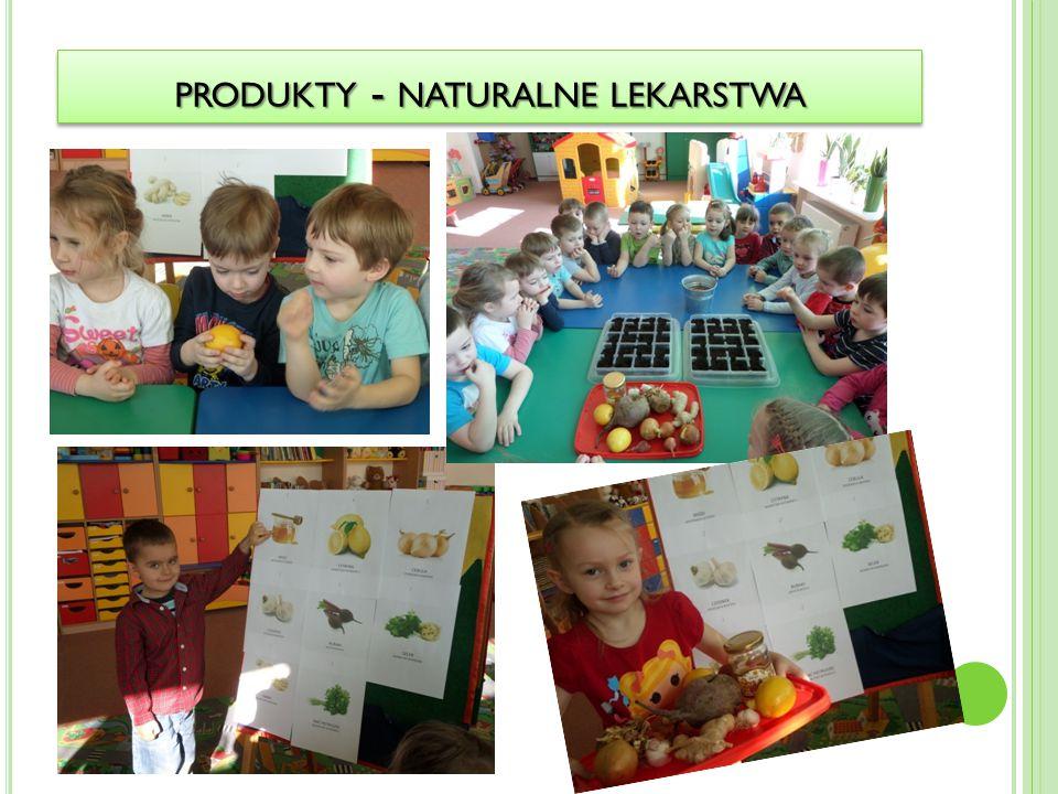 produkty - naturalne lekarstwa
