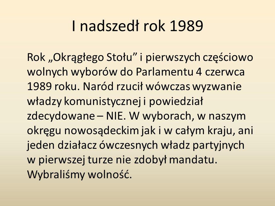 I nadszedł rok 1989