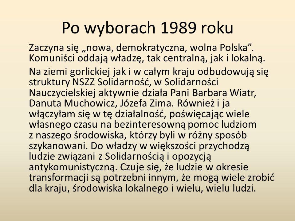 Po wyborach 1989 roku