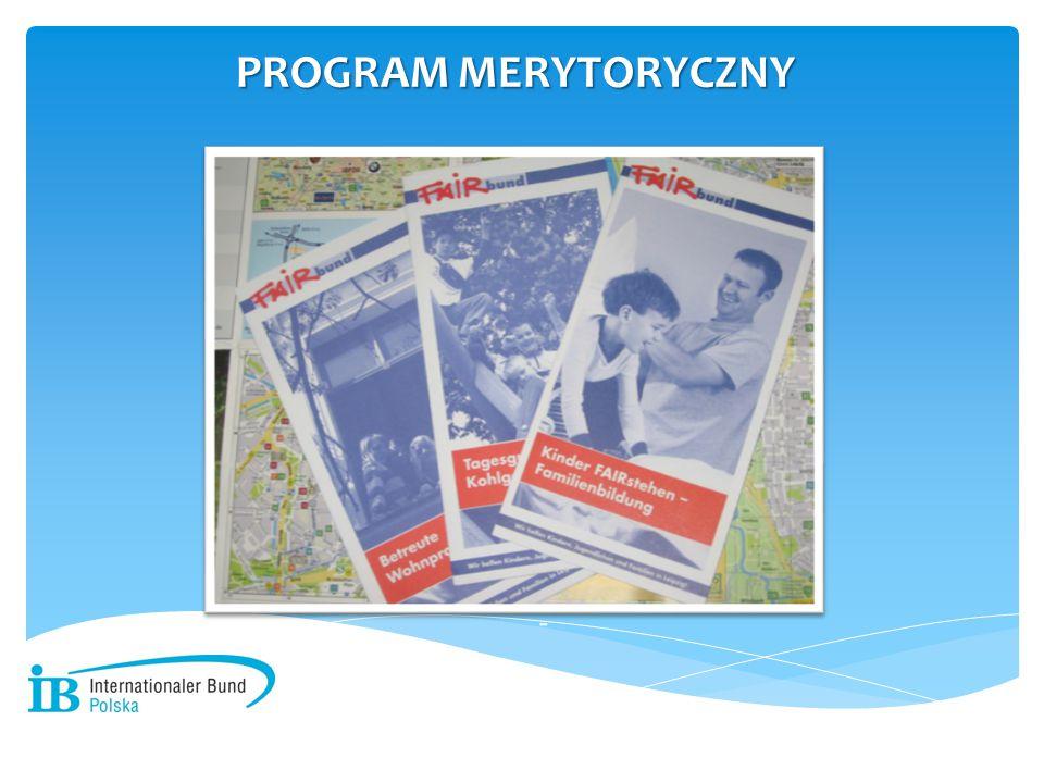 PROGRAM MERYTORYCZNY -