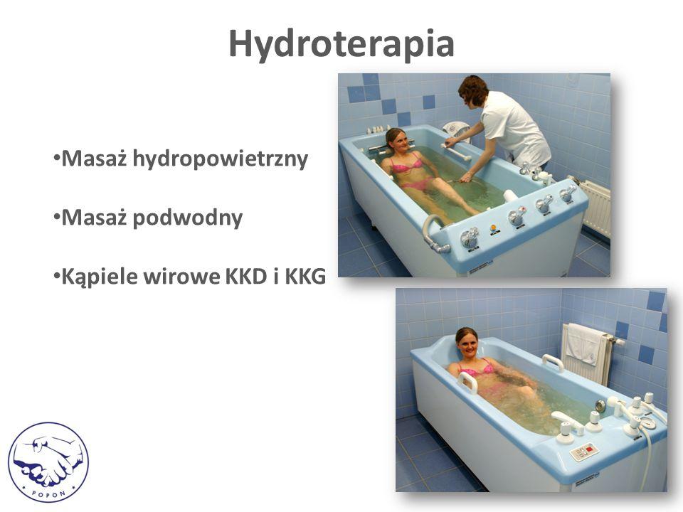 Hydroterapia Masaż hydropowietrzny Masaż podwodny