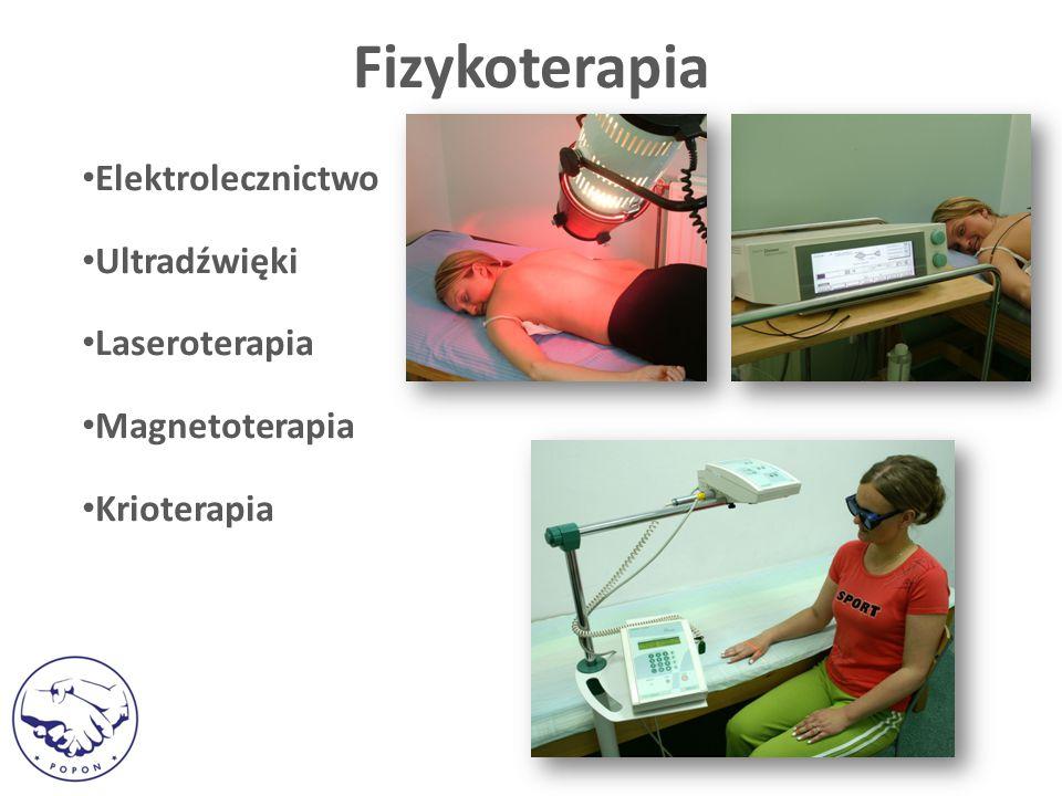 Fizykoterapia Elektrolecznictwo Ultradźwięki Laseroterapia