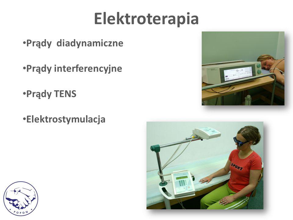 Elektroterapia Prądy diadynamiczne Prądy interferencyjne Prądy TENS