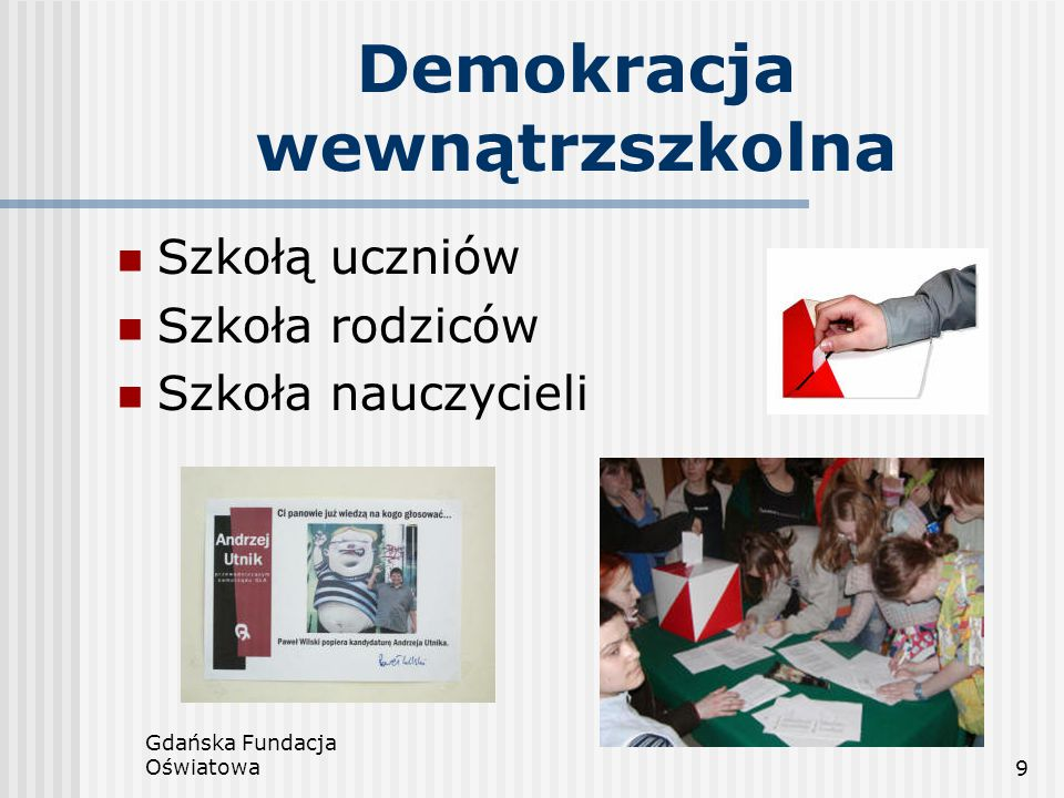 Demokracja wewnątrzszkolna