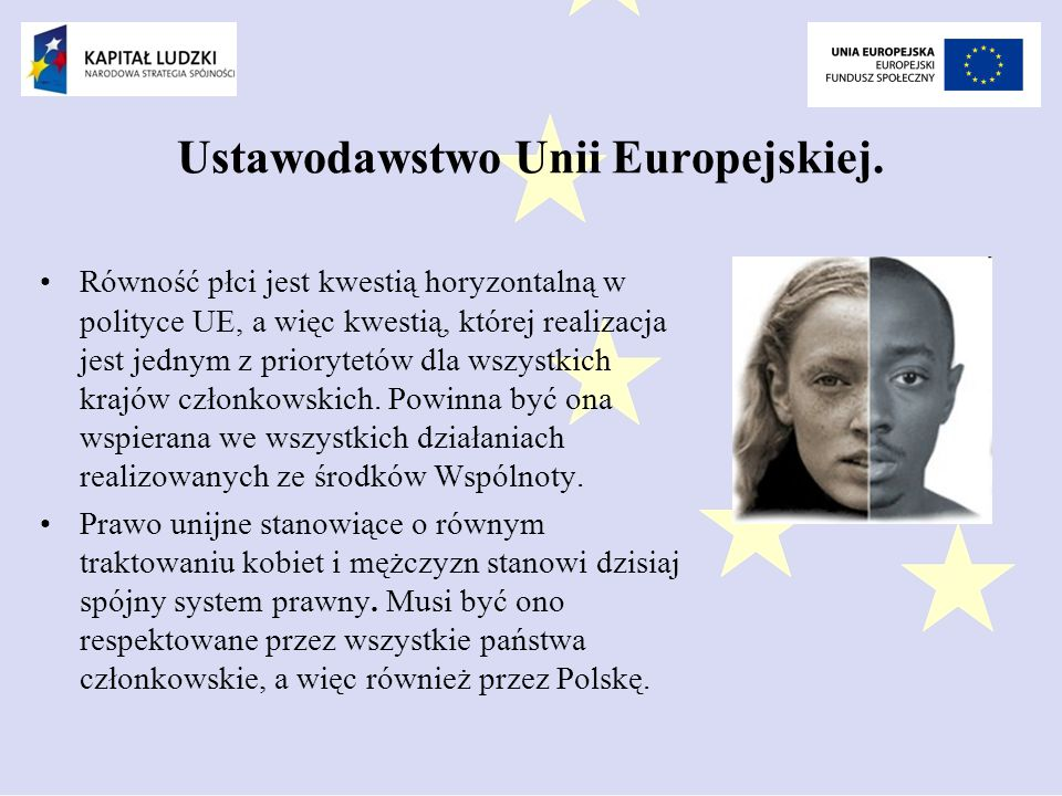 Ustawodawstwo Unii Europejskiej.