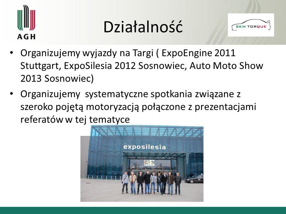 Działalność Organizujemy wyjazdy na Targi ( ExpoEngine 2011 Stuttgart, ExpoSilesia 2012 Sosnowiec, Auto Moto Show 2013 Sosnowiec)