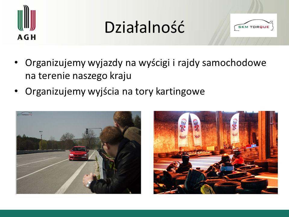 Działalność Organizujemy wyjazdy na wyścigi i rajdy samochodowe na terenie naszego kraju.