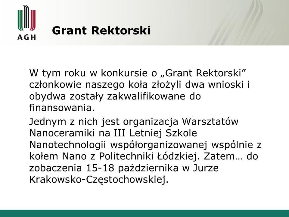 Grant Rektorski