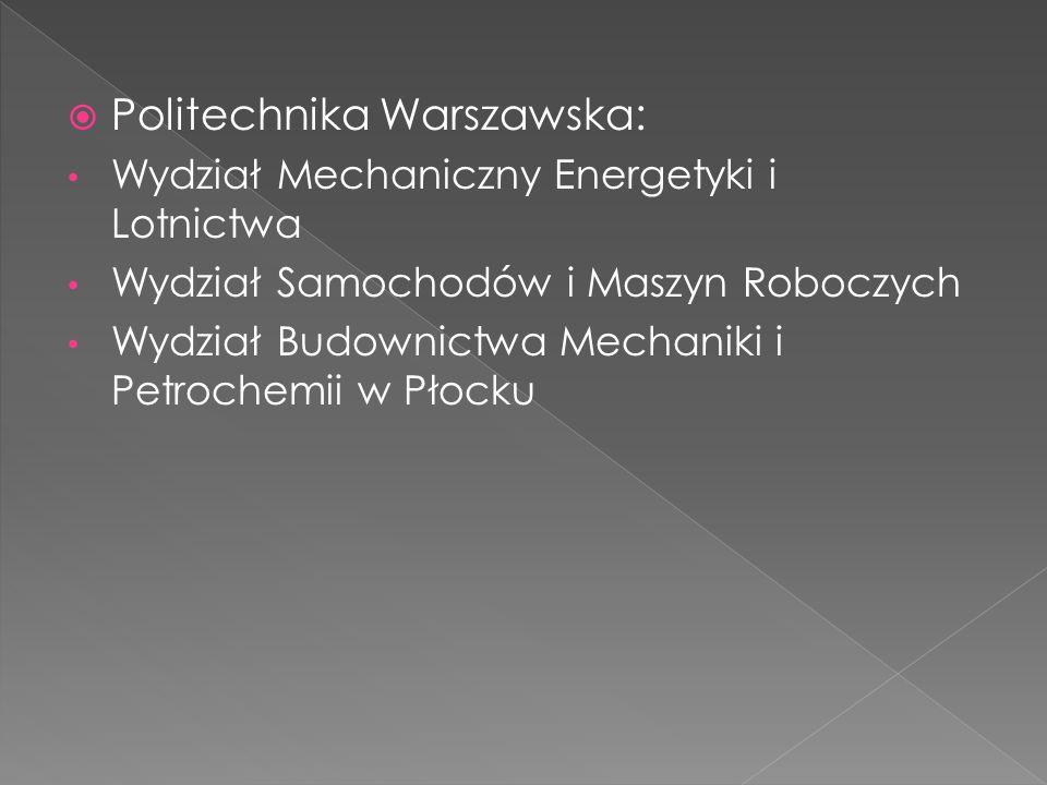 Politechnika Warszawska: