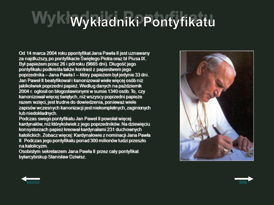 Wykładniki Pontyfikatu