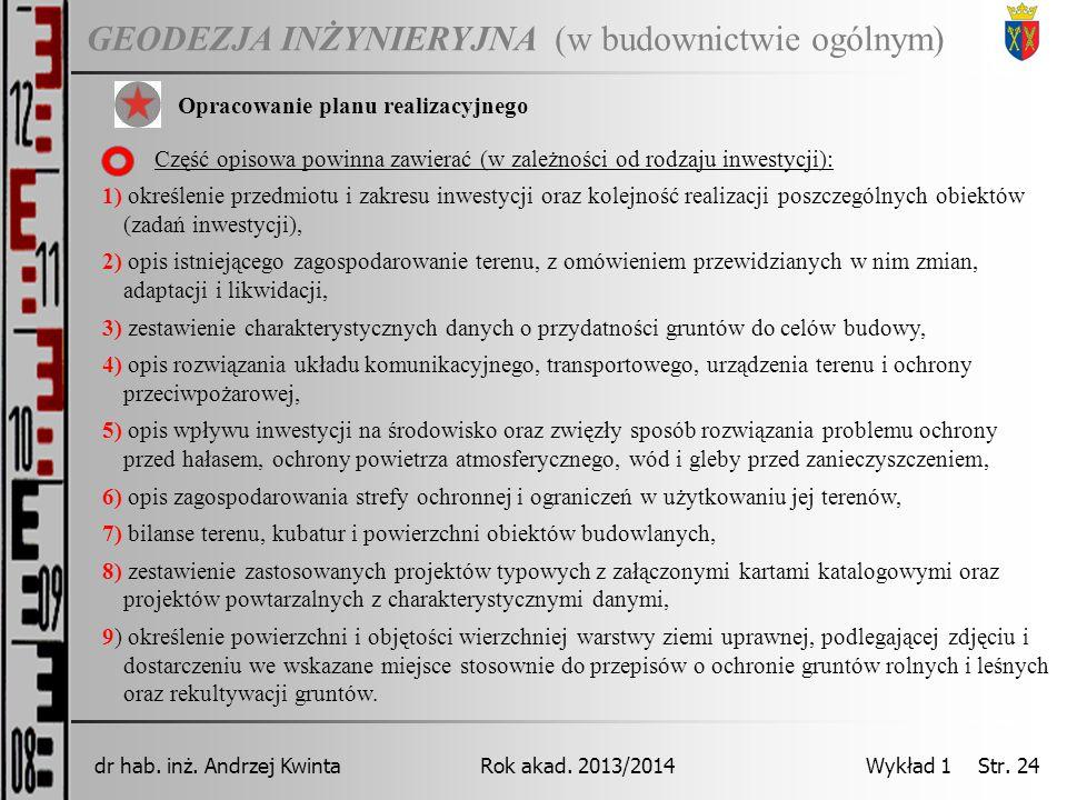 dr hab. inż. Andrzej Kwinta