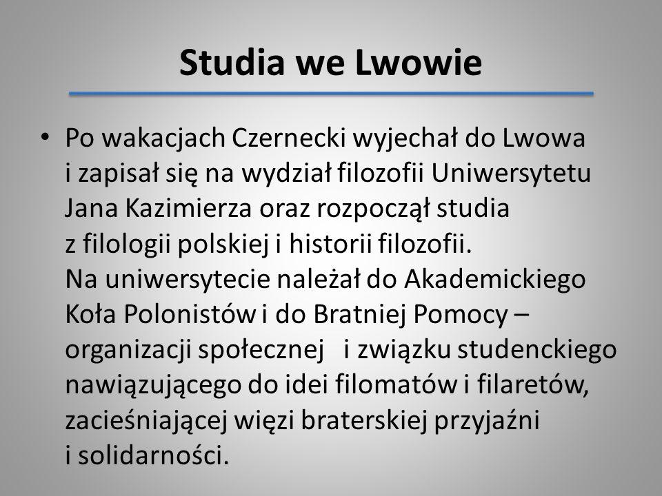 Studia we Lwowie