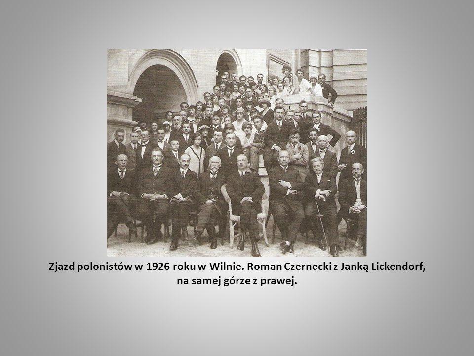 Zjazd polonistów w 1926 roku w Wilnie