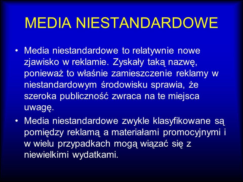 MEDIA NIESTANDARDOWE