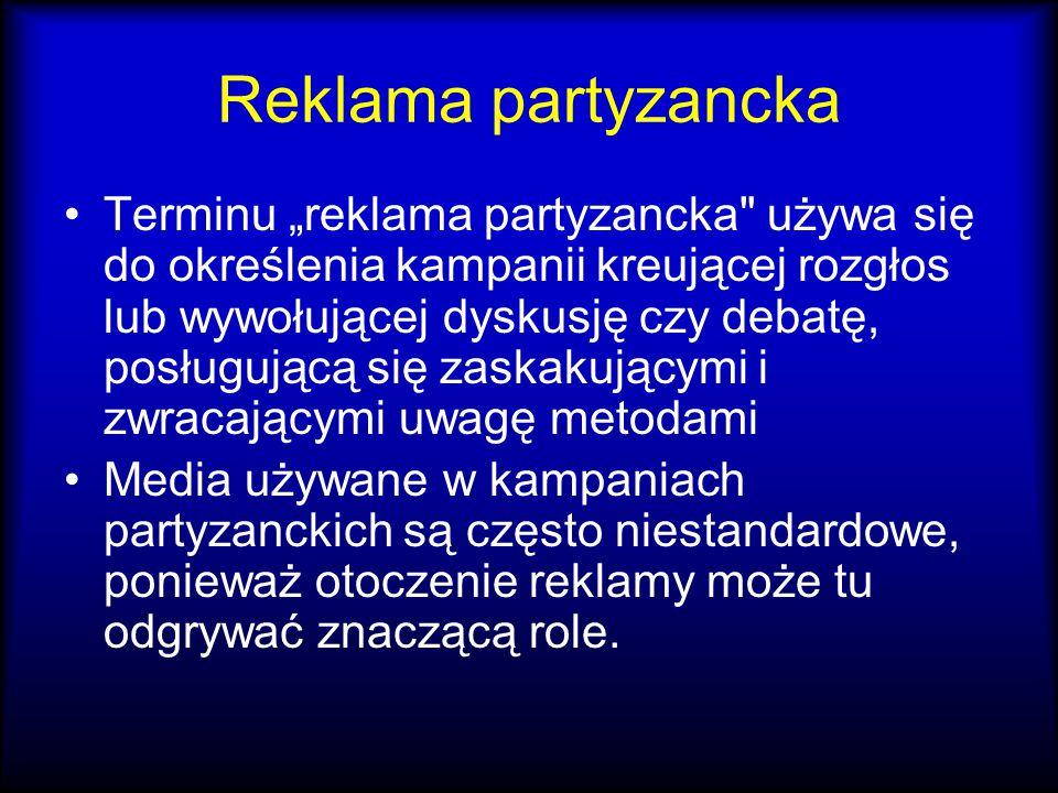 Reklama partyzancka