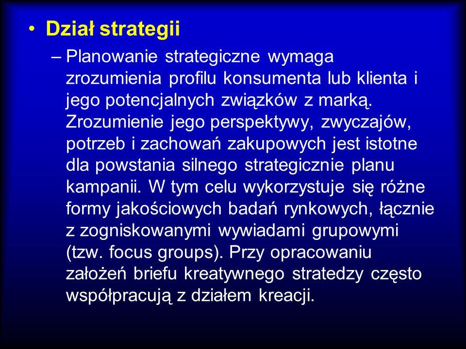 Dział strategii
