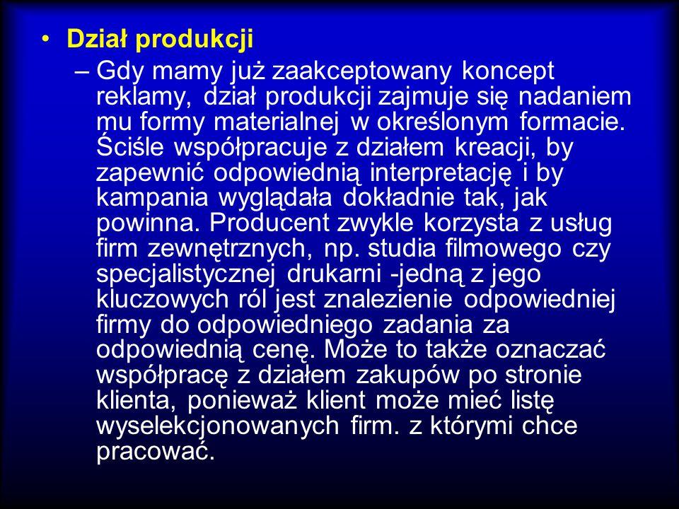 Dział produkcji