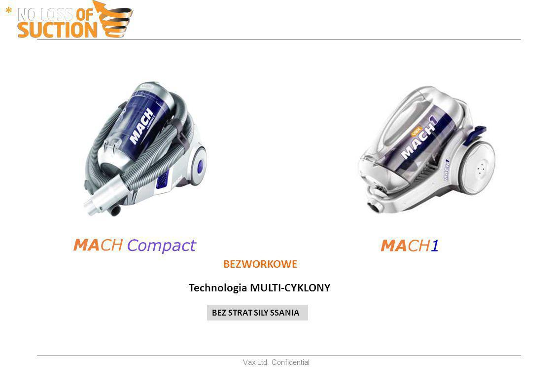 * MACH MACH1 Compact BEZWORKOWE Technologia MULTI-CYKLONY