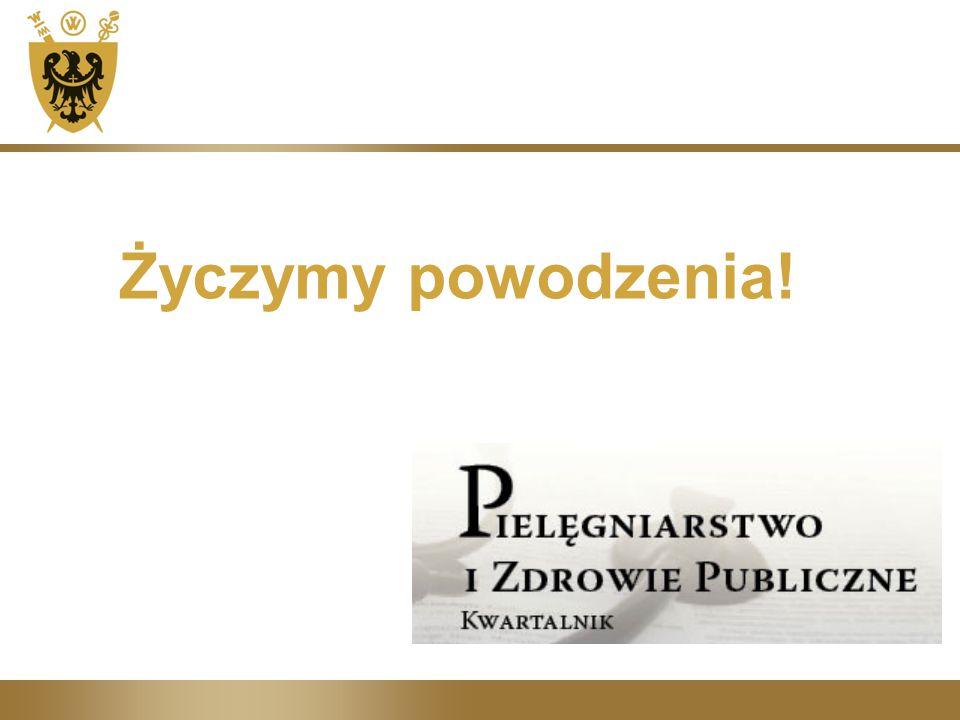 Życzymy powodzenia!