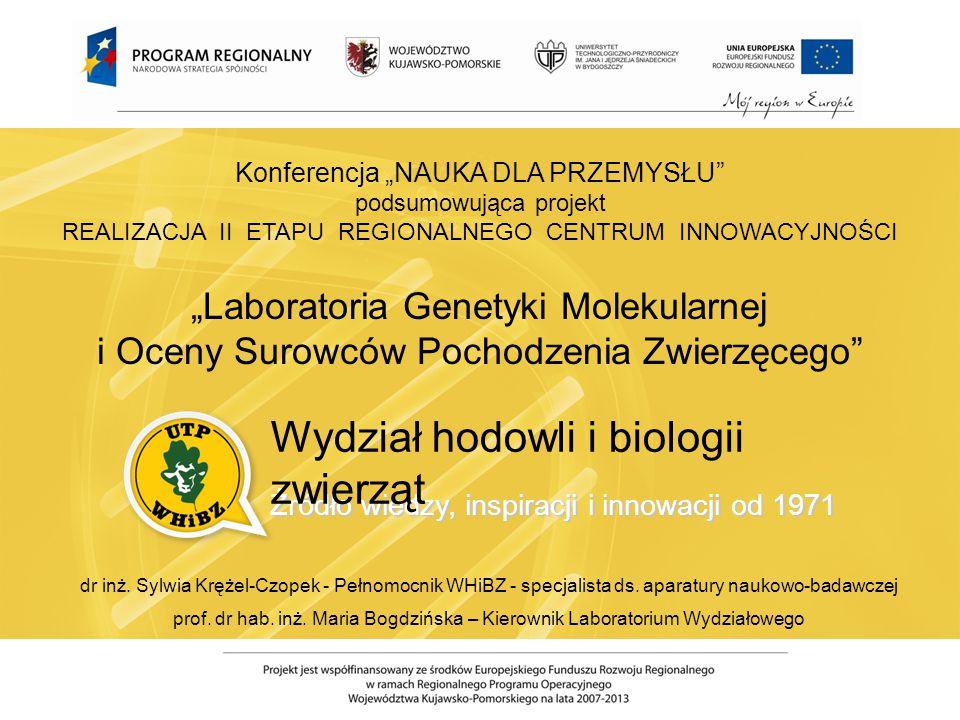 Wydział hodowli i biologii zwierząt