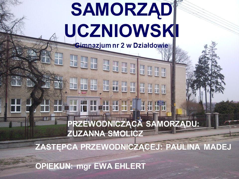 SAMORZĄD UCZNIOWSKI Gimnazjum nr 2 w Działdowie