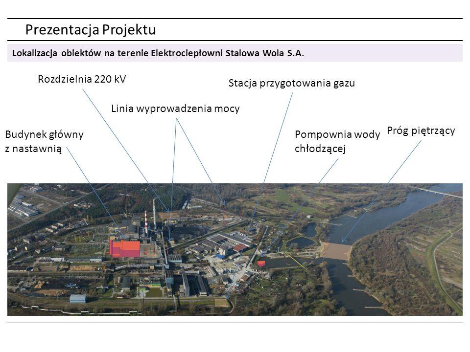 Prezentacja Projektu Rozdzielnia 220 kV Stacja przygotowania gazu
