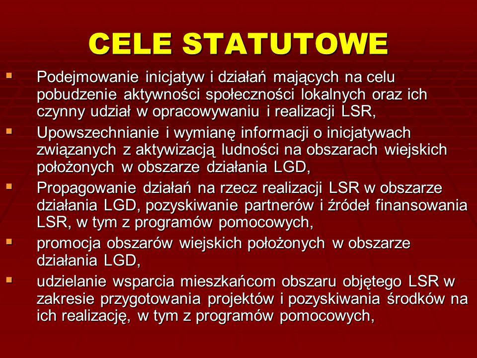 CELE STATUTOWE