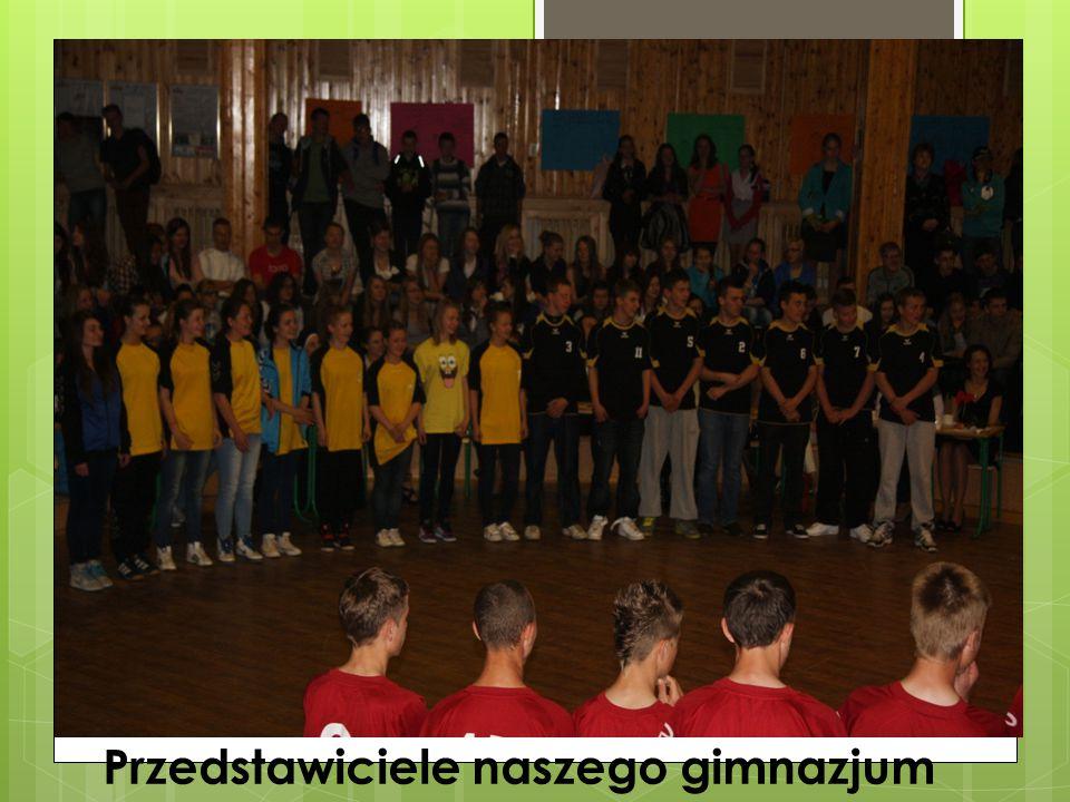 Przedstawiciele naszego gimnazjum