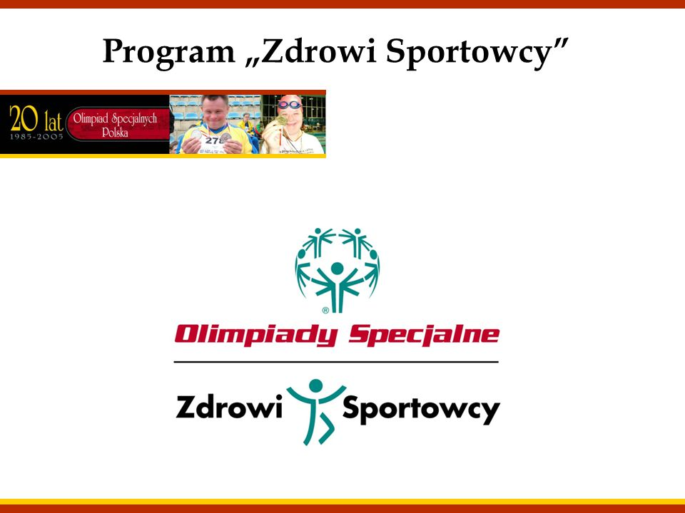 """Program """"Zdrowi Sportowcy"""