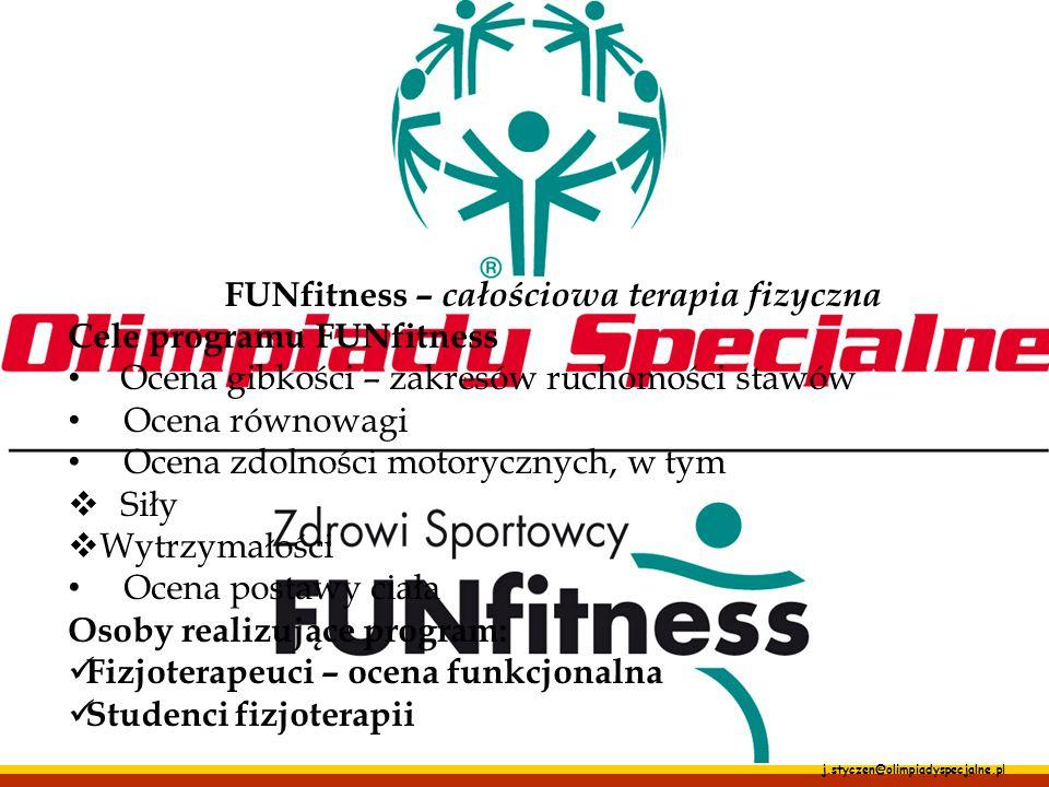FUNfitness – całościowa terapia fizyczna