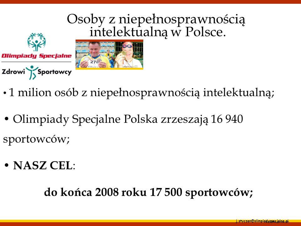 Osoby z niepełnosprawnością intelektualną w Polsce.