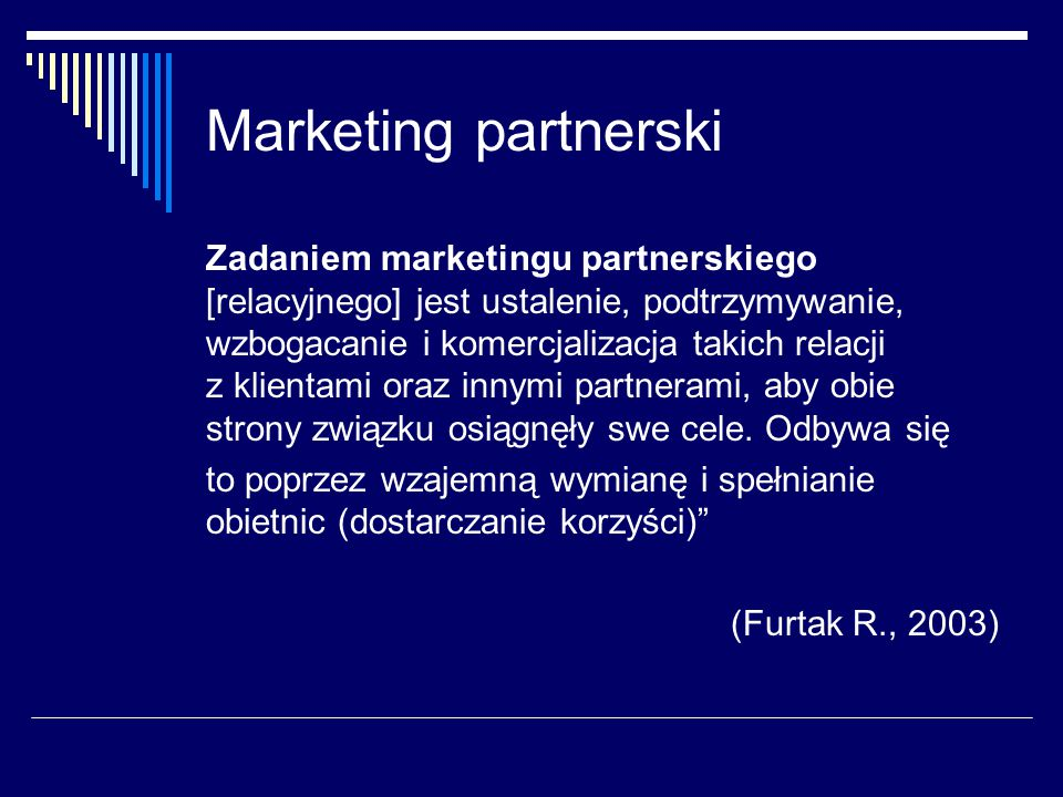 Marketing partnerski