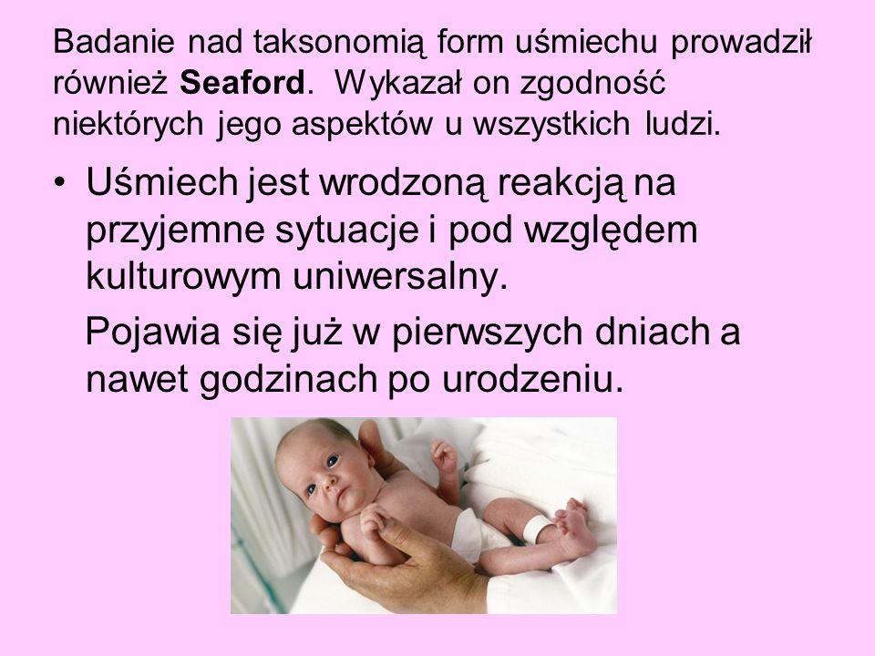 Pojawia się już w pierwszych dniach a nawet godzinach po urodzeniu.