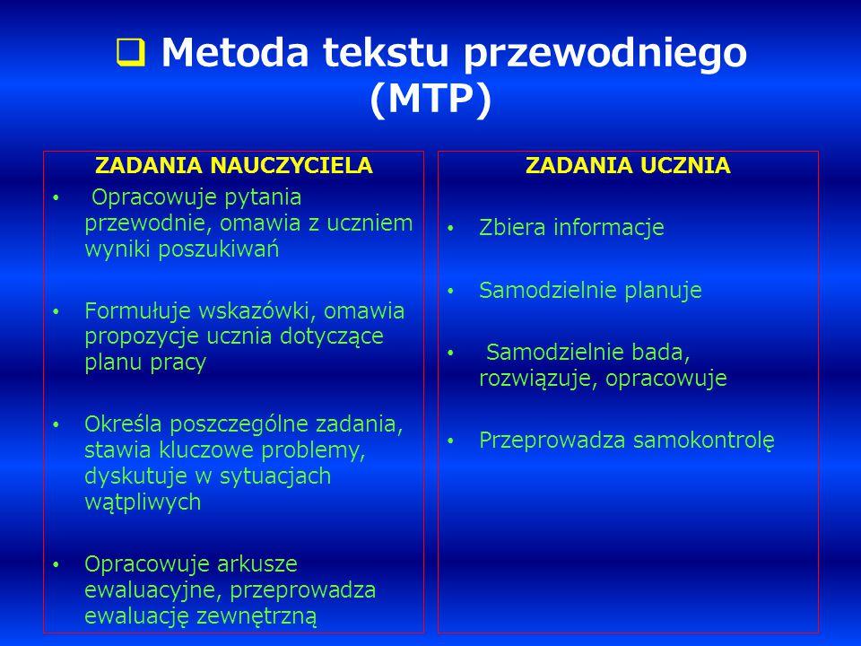 Metoda tekstu przewodniego (MTP)