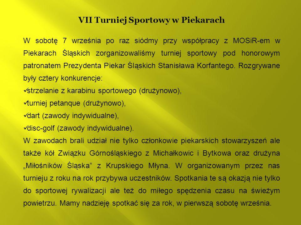 VII Turniej Sportowy w Piekarach
