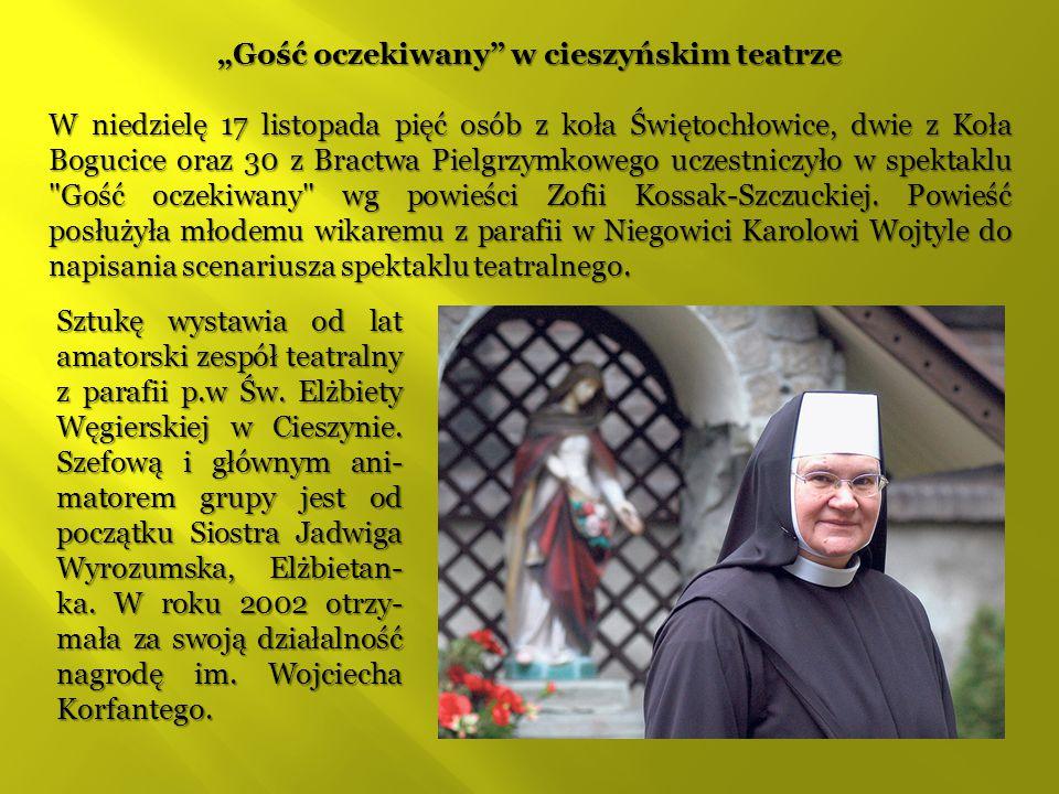 """""""Gość oczekiwany w cieszyńskim teatrze"""