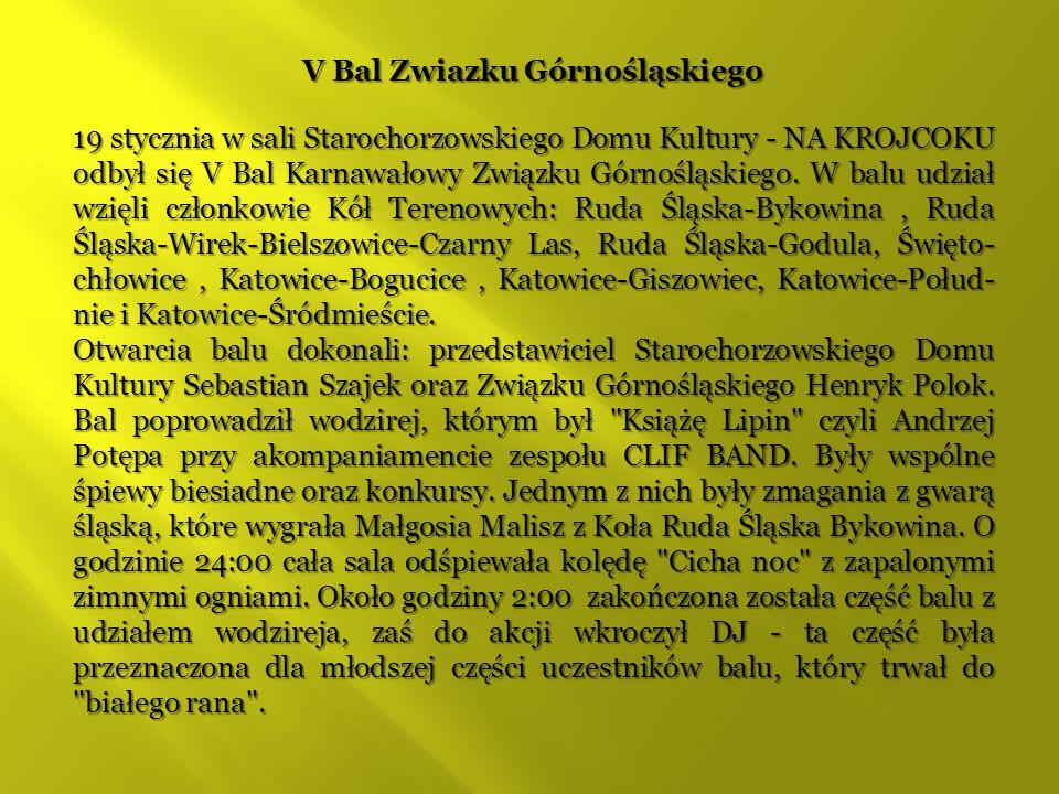 V Bal Zwiazku Górnośląskiego
