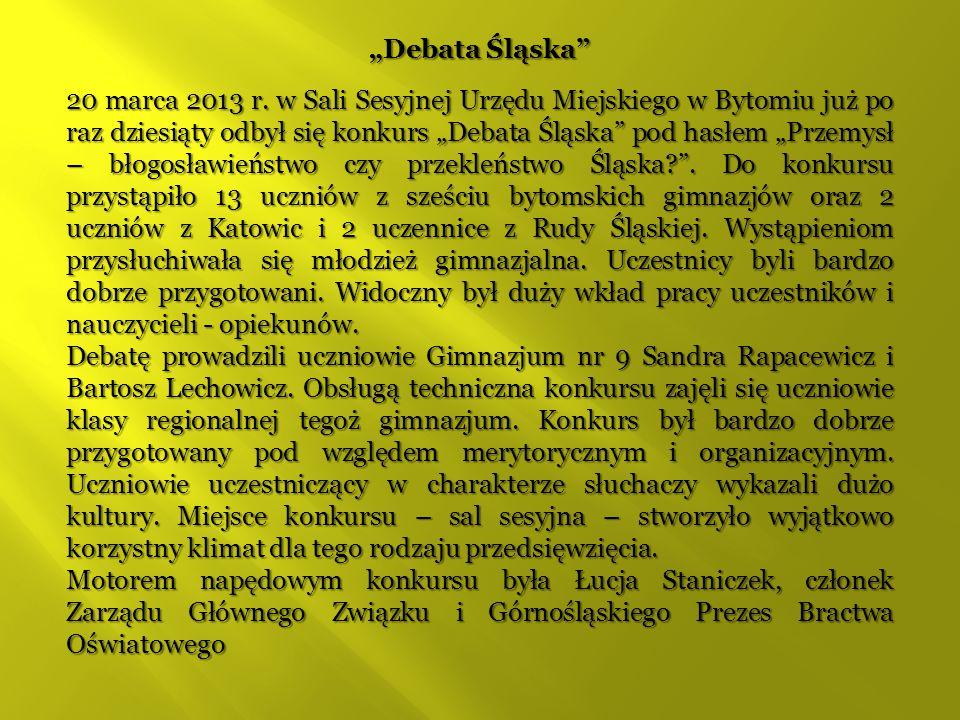 """Debata Śląska"