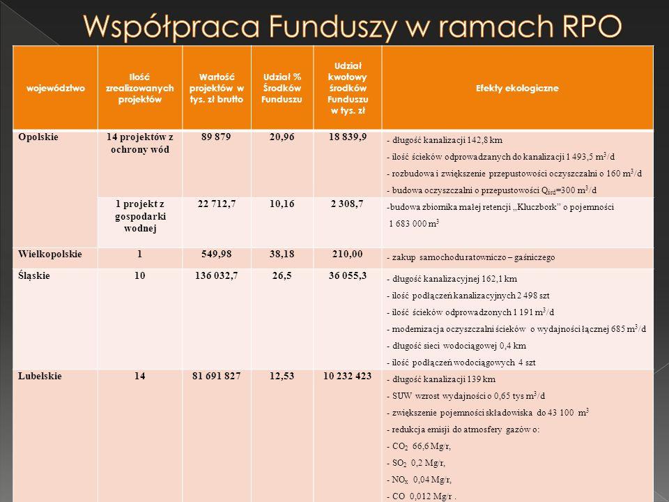 Współpraca Funduszy w ramach RPO