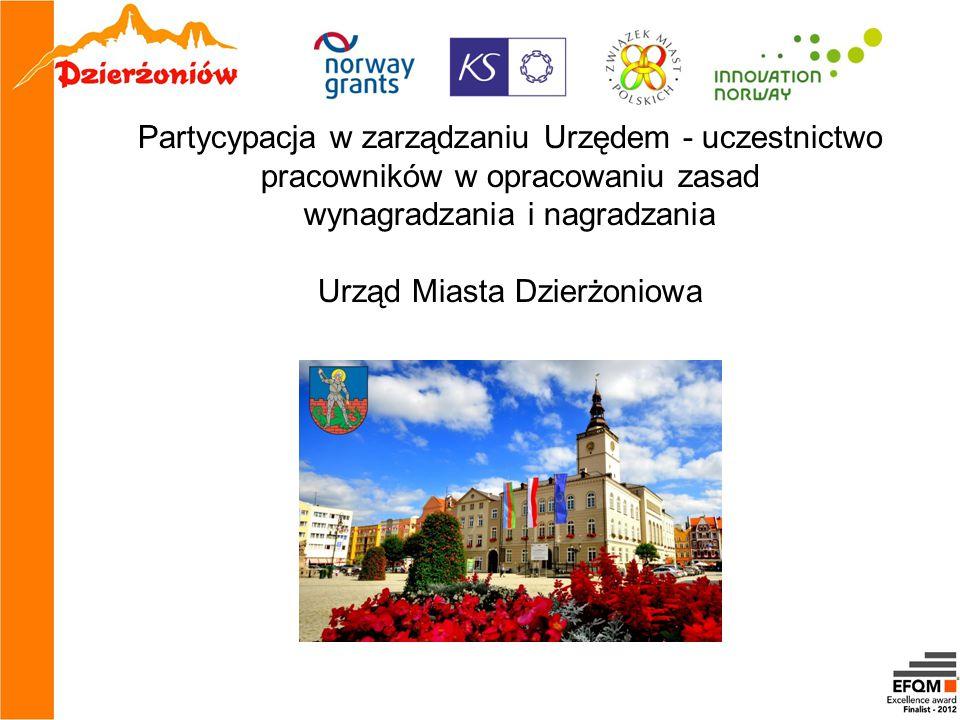 wynagradzania i nagradzania Urząd Miasta Dzierżoniowa